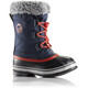 Sorel Youth Yoot Pac Nylon Collegiate Navy/Sail Red